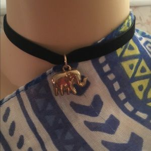 3 for $10 rue 21 choker necklace elephant necklace
